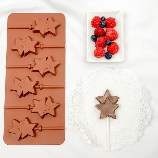 Star chocolate mold - Ramadan and Eid chocolate