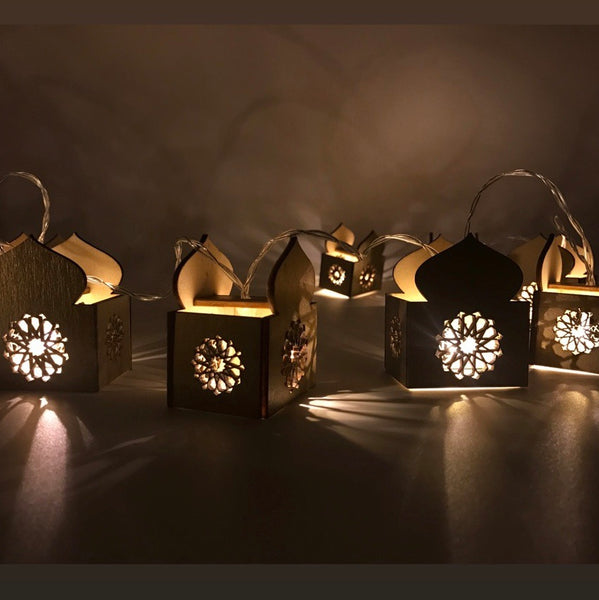 Minimalist Masjid String Lights - 3 colors