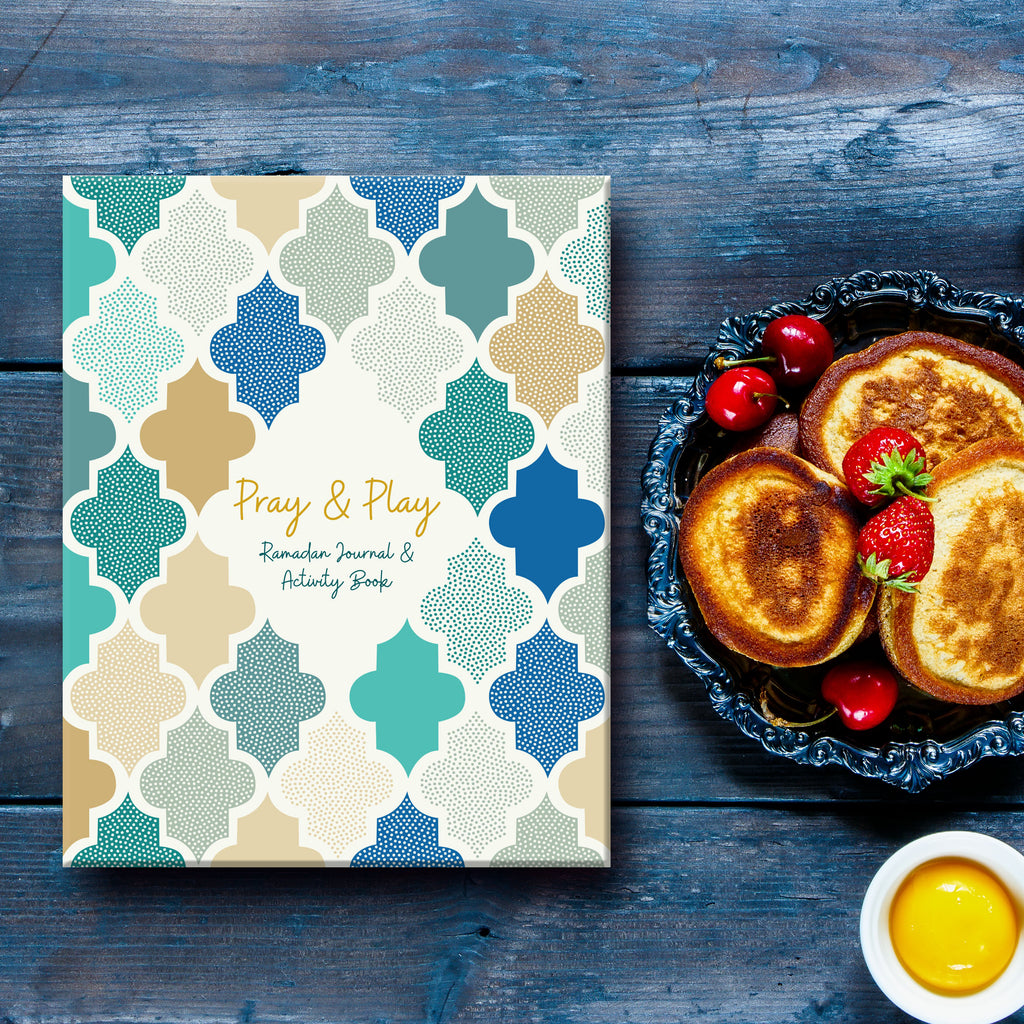 Kid's Ramadan journal - Ramadan planner for children