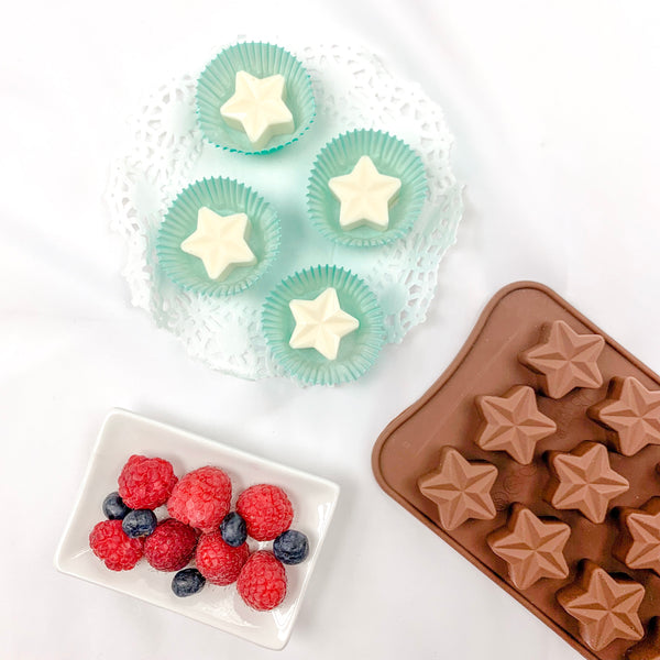 Star chocolate mold - Ramadan and Eid chocolate favor