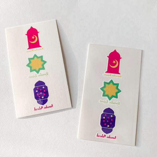 ramadan tattoo - ramadan goodie bag - ramadan gift