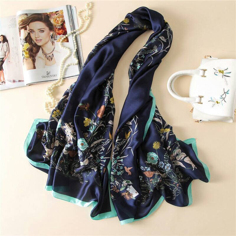 Silk fashion scarf