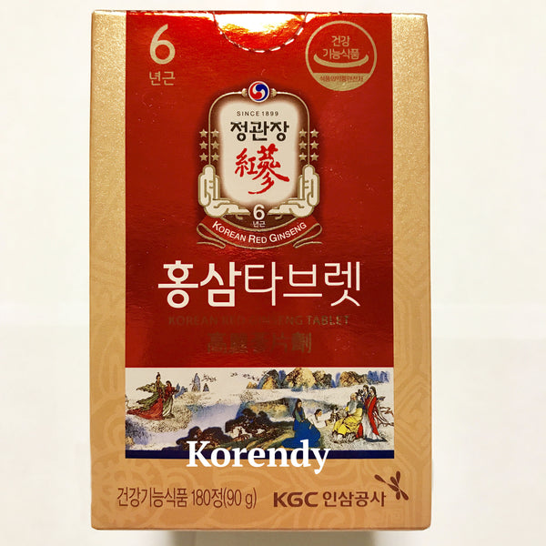 KCG - Red Ginseng Tablet 90 gr - 180 Tablet