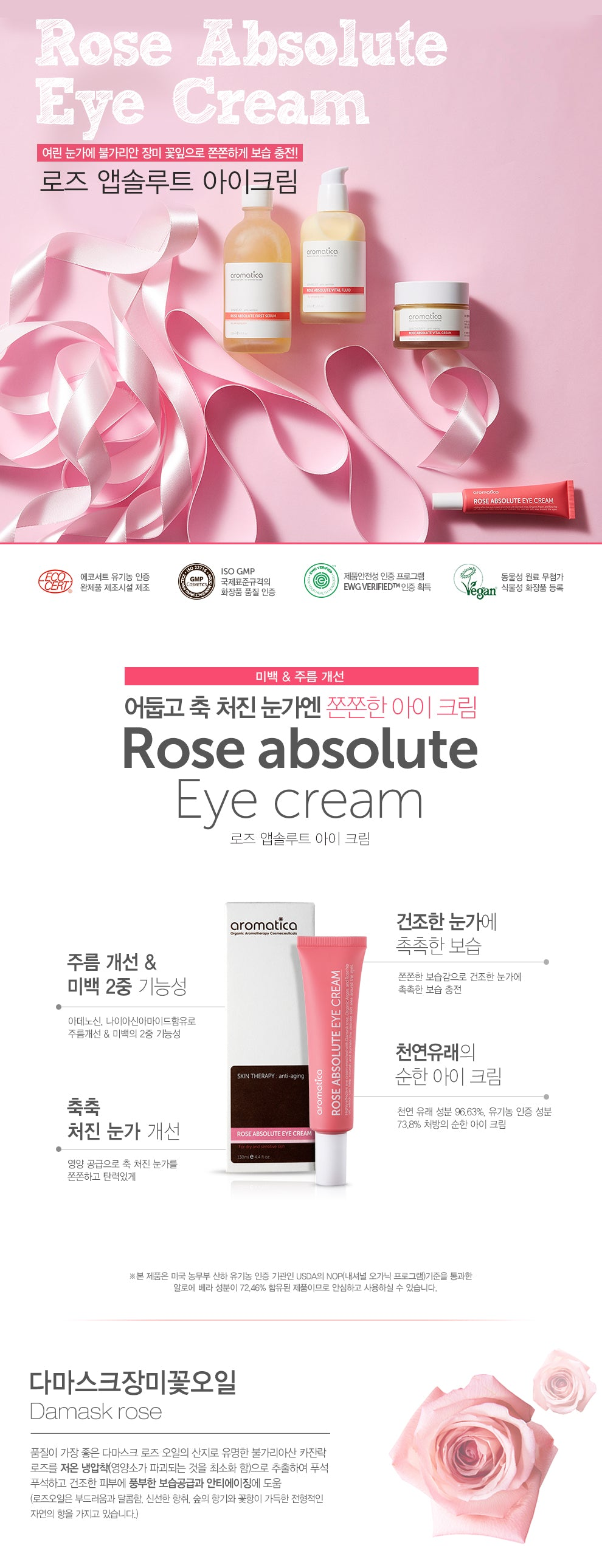 Aromatica - Rose Absolute Eye Cream