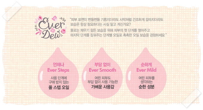 Etude House - Ever Dew Wrapping Oil
