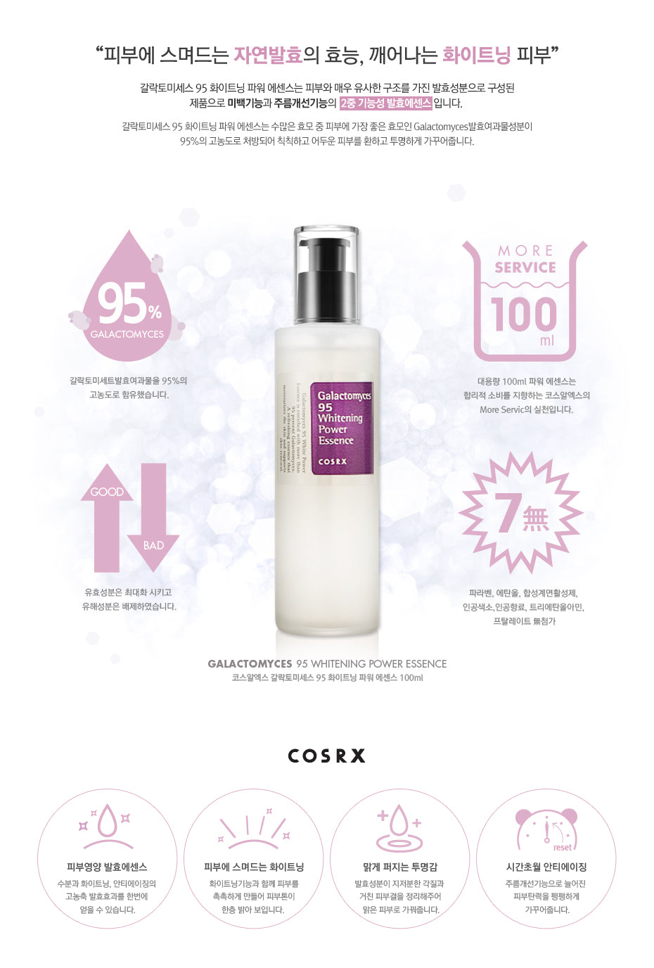 Cosrx - Galactomyces 95 White Power Essence