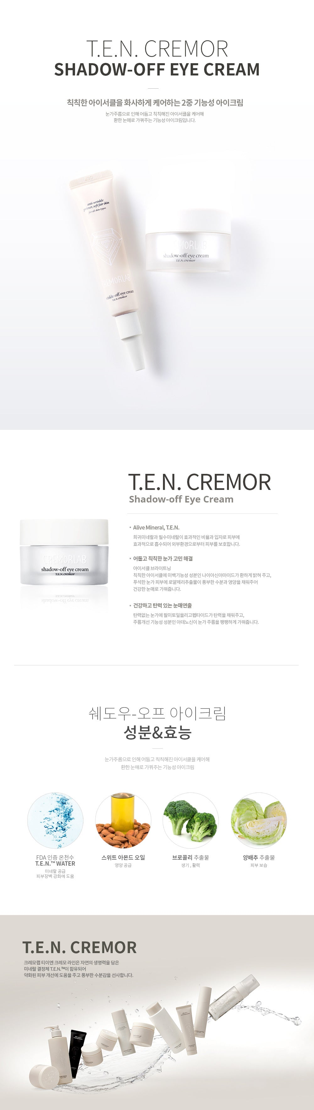 Cremorlab - Shadow-Off Eye Cream