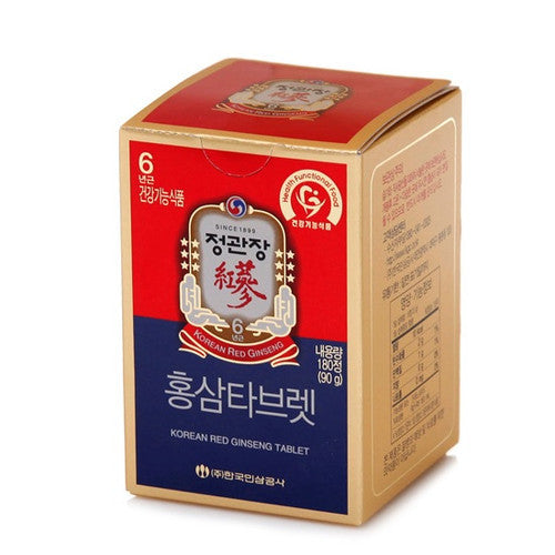 Kgc - Red Ginseng Tablet 90gr180 Tablet