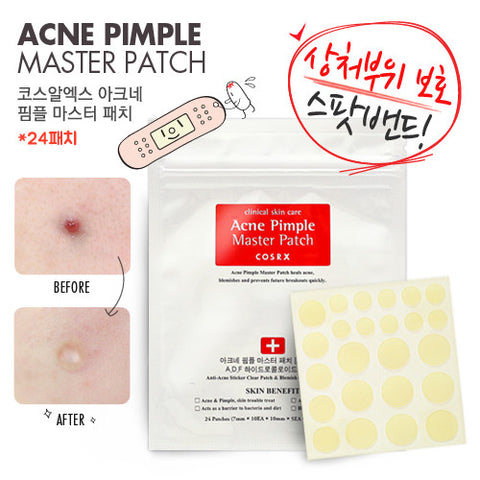Cosrx - Acne Pimple Master Patch (24 Patches) 50g