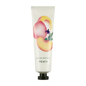 Nature Republic - Hand Nature Hand Cream - No.Peach 30ml