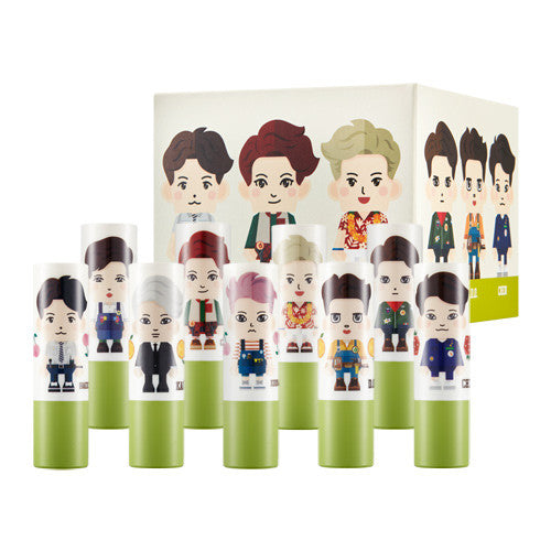 Nature Republic - Exo Natural Lip Butter Mango - Set 9X4g