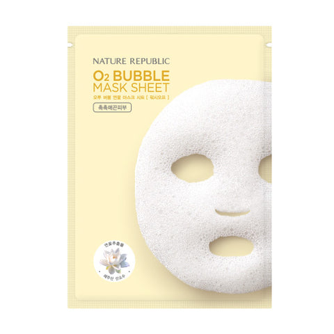 Nature Republic - O2 Bubble Lotus Mask Sheet 28gr