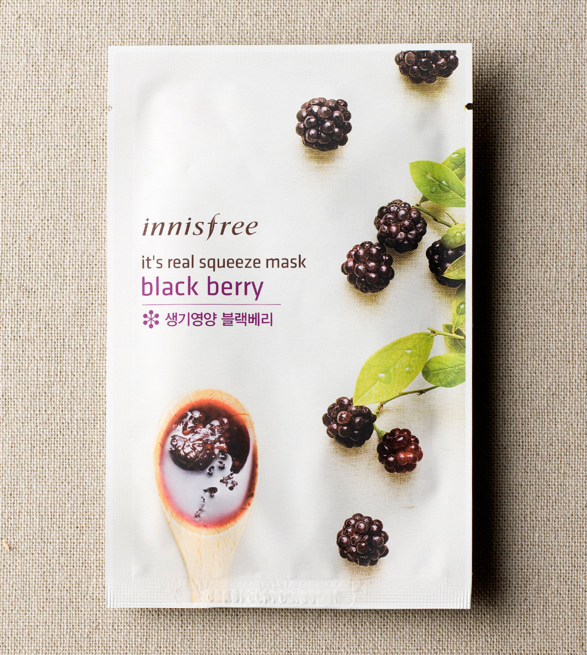 Innisfree - It's Real Squeeze Mask 20ml x 3Adet
