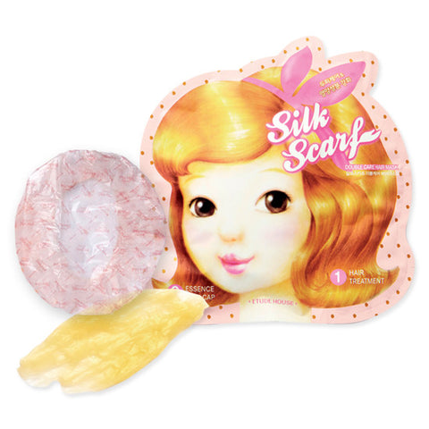 Etude House - Silk Scarf Double Hair Mask  x 5paket