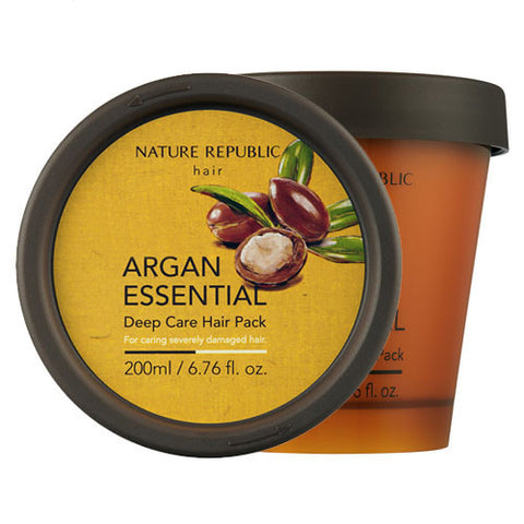 Nature Republic - Argan Essential Deep Care Hair Pack 200ml