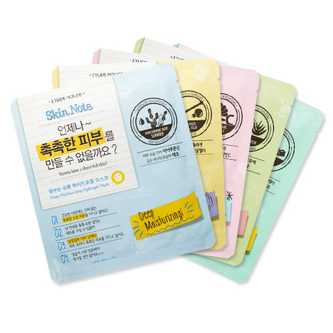 Etude House - Skin Note Mask Sheets