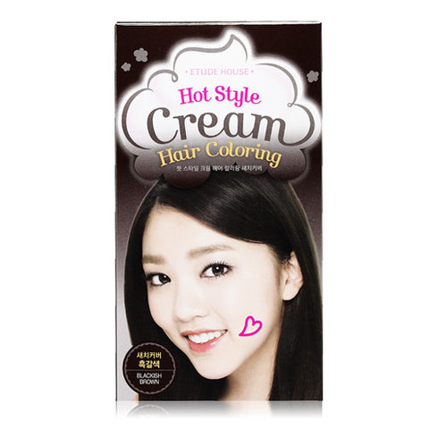 Etude House - Hot Style Bubble Hair Coloring Gray Hair Cover (Dark Brown)