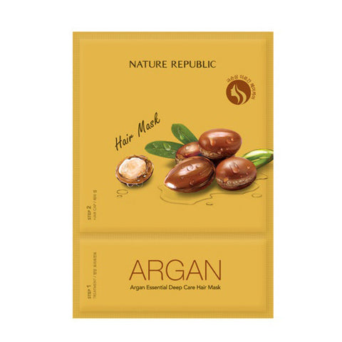 Nature Republic - Argan Essential Deep Care Hair Mask 15ml