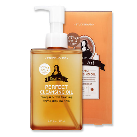 Etude House - Real Art Cleansing Oil_Perfect 185ml