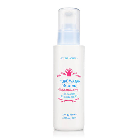 Etude House - Pure Water Baobab Mild Lotion 90ml