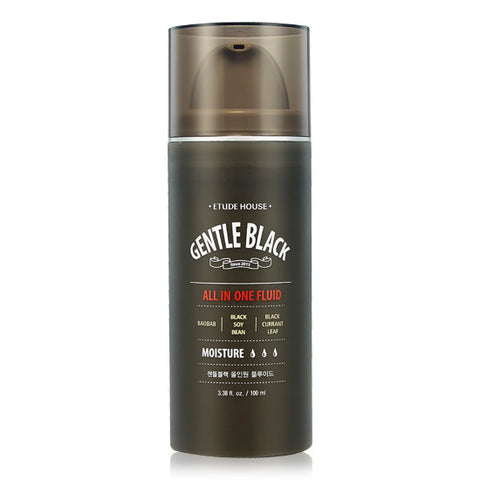 Etude House - Gentle Black All In One Fluid 100ml