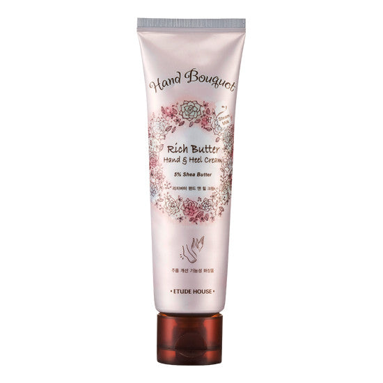 Etude House - Hand Bouquet Rich Butter Hand & Heel Cream 100ml