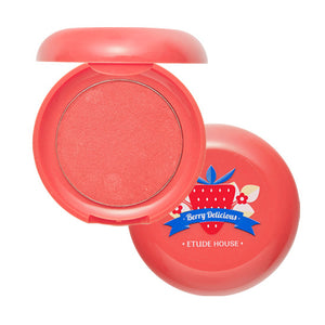 Etude House - Berry Delicious Cream Blusher 6g