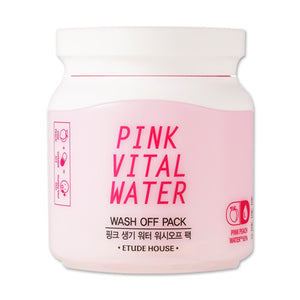 Etude House - Pink Vital Water Wash Off Pack 100ml