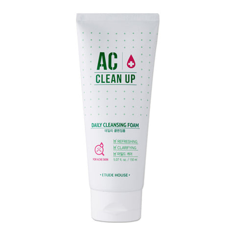 Etude House - AC Clean Up Daily Acne Foam 150ml