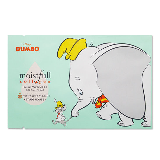 Etude House - Moistfull Collagen Mask Sheet Dumbo 23ml x 5paket