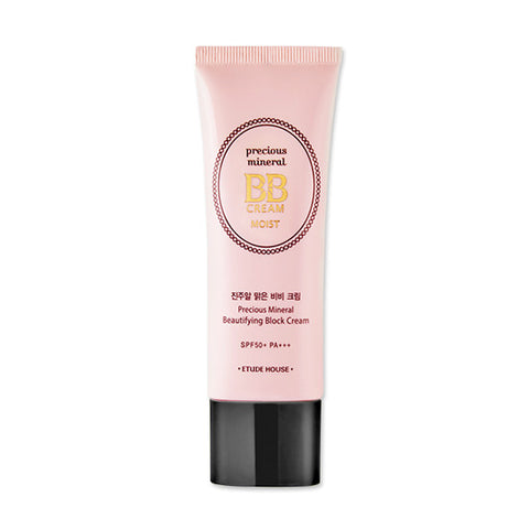 Etude House - Precious Mineral Beautifying Block Cream Moist 45g SPF50+ PA+++