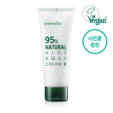 Aromatica – 95% Natural Aloe Aqua Cream 100g