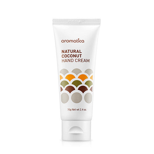 Aromatica - Natural Coconut Hand Cream 20ml