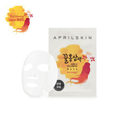 April Skin - Honey & Red Ginseng Mask
