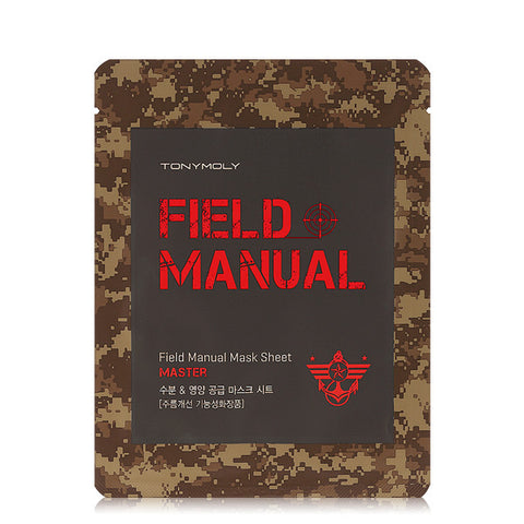 Tony Moly - Field Manual Master Mask Sheet 25mlx 3ad