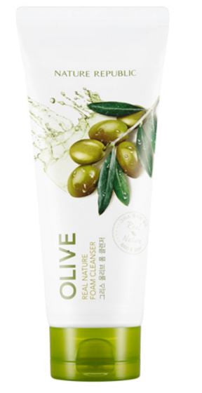 nature republic - olive foam cleanser