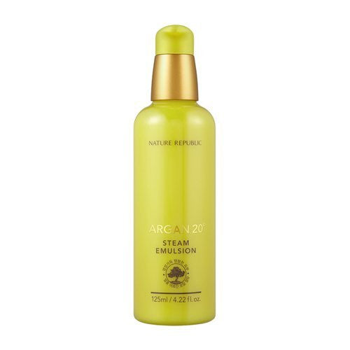 Nature Republic -  Argan 20º Steam Emulsion 125ml