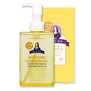 Etude House - Real Art Cleansing Oil Moisture 185ml