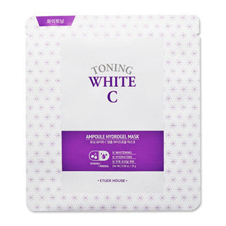 Etude House - Toning White C Ampoule Mask Sheet
