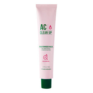 Etude House - Ac Clean Up Pink Powder Mask