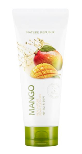 nature republic - mango foam cleanser