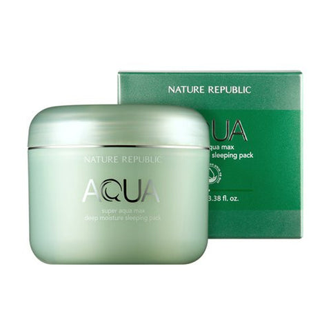 Nature Republic - Super Aqua Max Deep Moisture sleeping Pack 100ml
