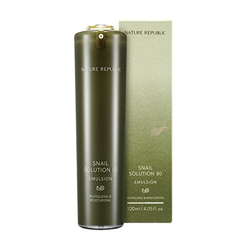 Nature Republic - Snail Solution Emulsion 120ml