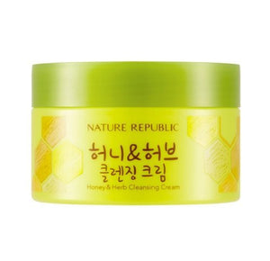 Nature Republic - Honey & Herb Cleansing Cream 215ml