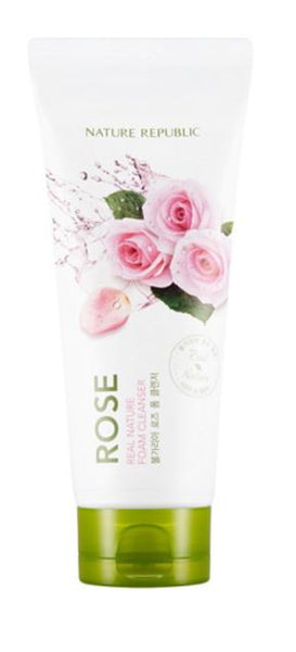 nature republic - rose foam cleanser