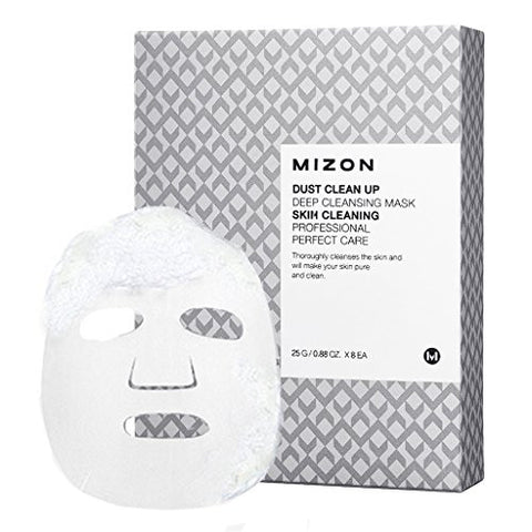 Mizon - Dust Clean Up Deep Cleansing Mask 25ml x 8ad