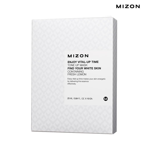 Mizon - Enjoy Vital-Up Time - Tone Up Mask-Set 25ml x 10ad