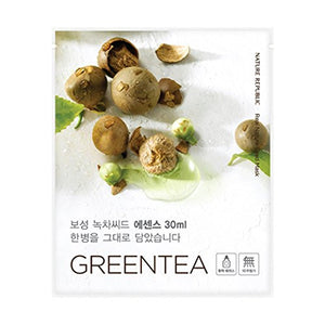 Nature Republic - Real Nature Seed Mask Sheet Green Tea 30ml
