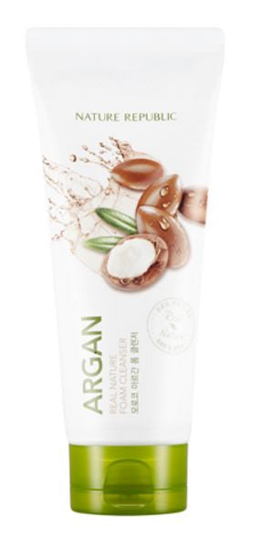 nature republic - argan foam cleanser