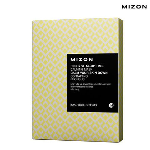 Mizon - Enjoy Vital-Up Time - Calming Mask-Set 25ml x 10ad